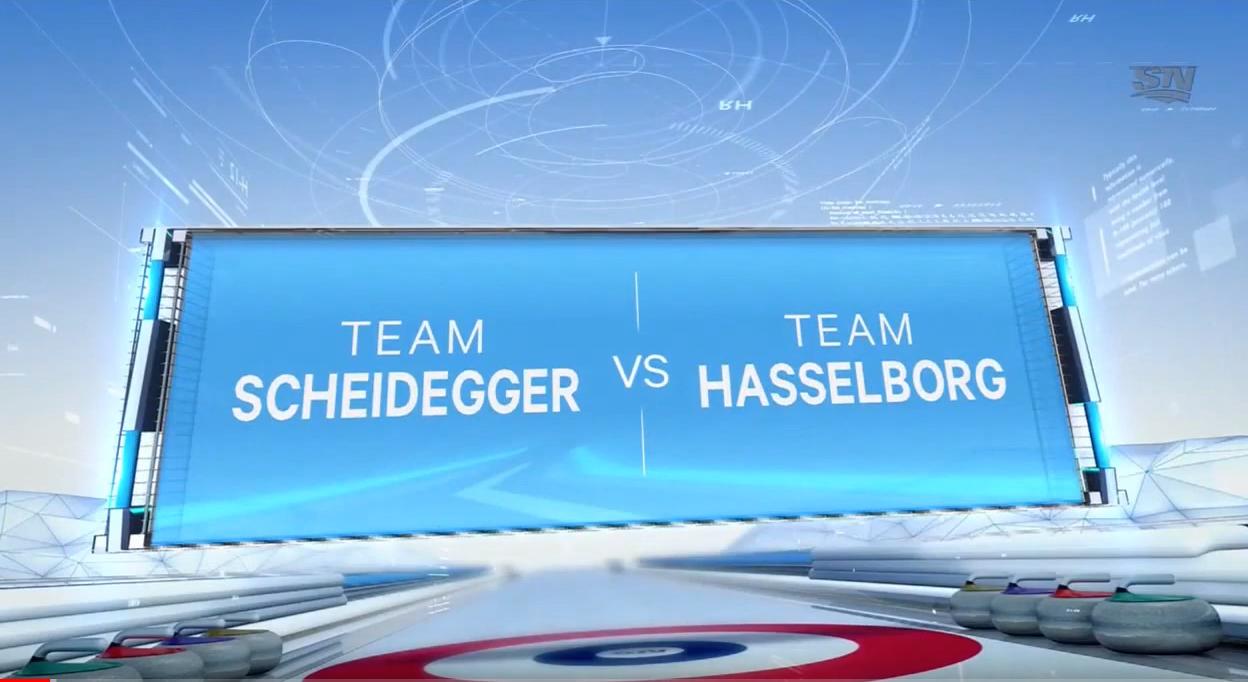 2019 Players' Championship: Hasselborg v Scheidegger image